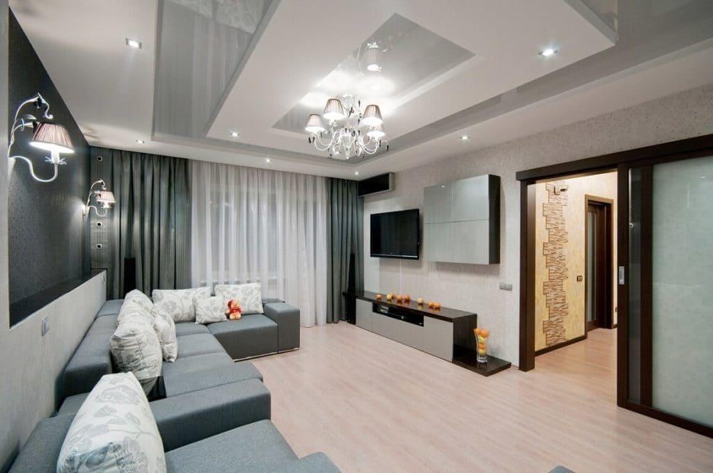 Планировка комнаты в однокомнатной квартире в г Москва